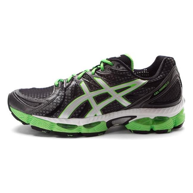 ASICS GEL-Nimbus 13 Storm / Onyx / Electric Apple