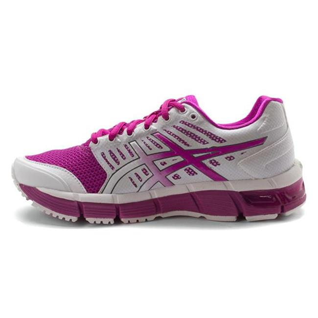 ASICS GEL-Cirrus33 White / Electric Violet / Lime