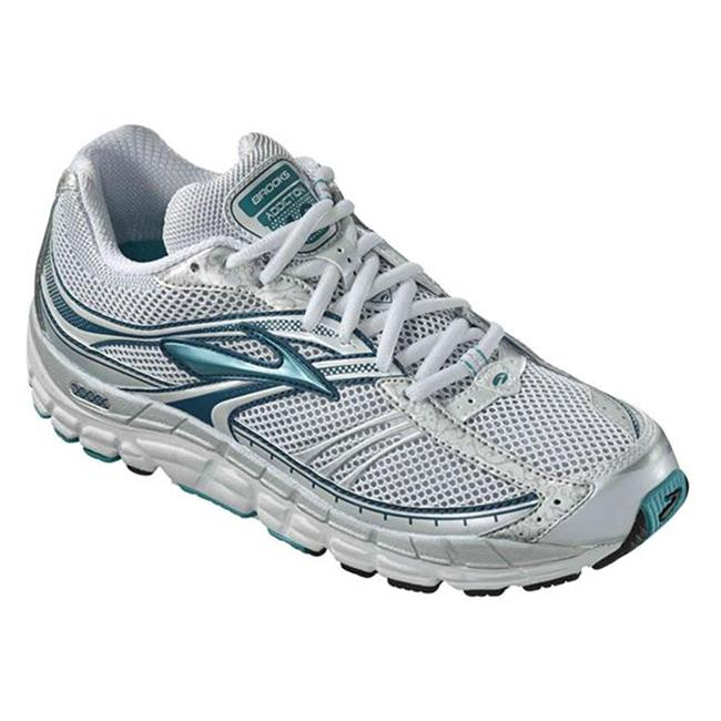 Brooks Addiction 10 Metallic Aqua / Silver / Marina Blue