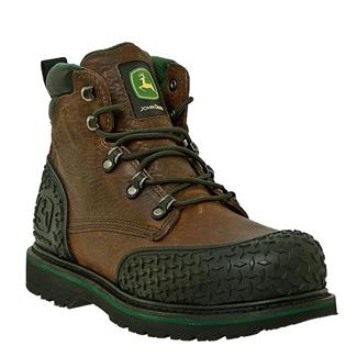"John Deere 6"" Combine II Lace-Up ST Dark Brown"