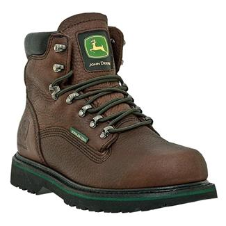 "John Deere 6"" Combine II Lace-Up WP Dark Brown"