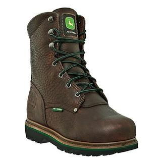 "John Deere 8"" Combine II Lace-Up Met Guard ST Brown"