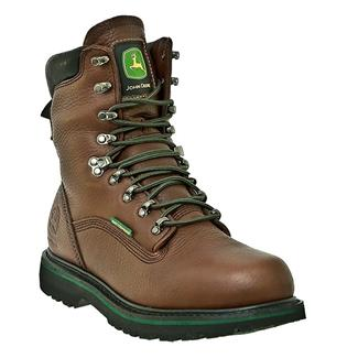 "John Deere 8"" Combine II Lace-Up WP Dark Brown"