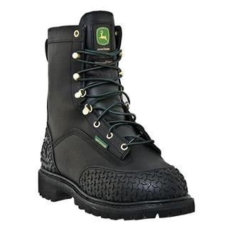 "John Deere 9"" Miner Lace-Up ST 400G WP Black"