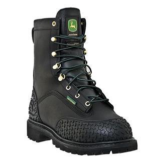 "John Deere 9"" Miner Lace-Up ST 400G WP Black"