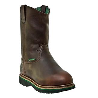 "John Deere 11"" Combine II Wellington Met Guard Dark Brown"