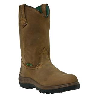 "John Deere 11"" WCT Leather Wellington ST WP Tan"