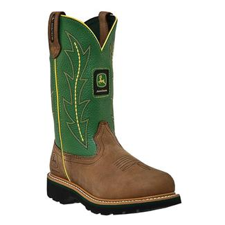 "John Deere 10"" Wellington Tan / Green"