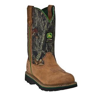 """John Deere 10"""" Wellington Leather Mossy Oak"""
