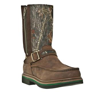 "John Deere 11"" Field Wellington Moc Toe SZ Brown / Camo"