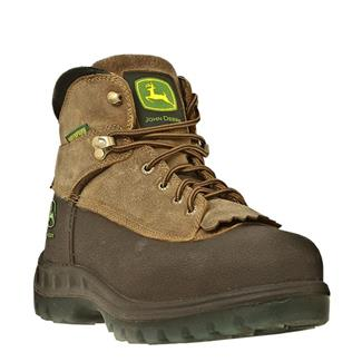 "John Deere 6"" WCT Lace-Up Leather ST WP Brown / Tan"