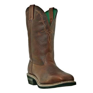 "John Deere 12"" Field Western Pull-On ST Brown"