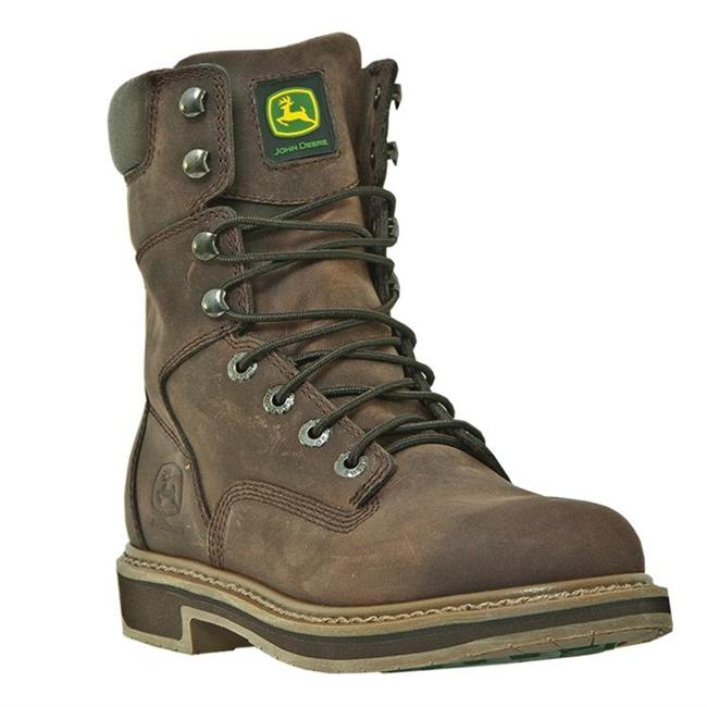"John Deere 8"" Field Lace-Up ST Nutty Mule"