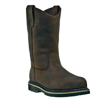 "McRae Industrial 11"" Ruff Rider Wellington Dark Brown"