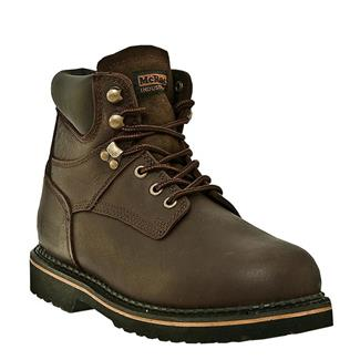 "McRae Industrial 6"" Ruff Rider Lacer Dark Brown"