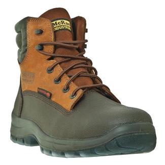 """McRae Industrial 6"""" Lace-Up Leather CT Chocolate"""