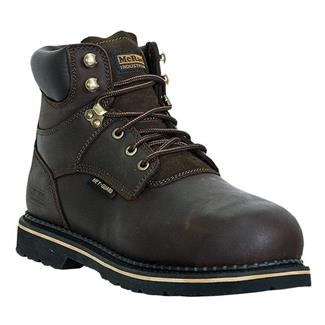 "McRae Industrial 6"" Ruff Rider Met Guard ST Dark Brown"