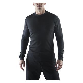 Massif Long Sleeve HotJohns Crew Shirt Black