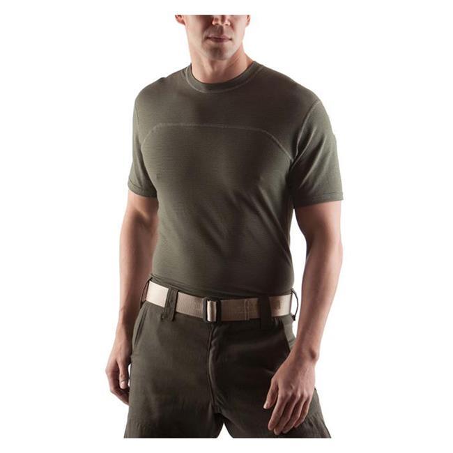 Massif Breeze SS T-Shirts Olive Drab