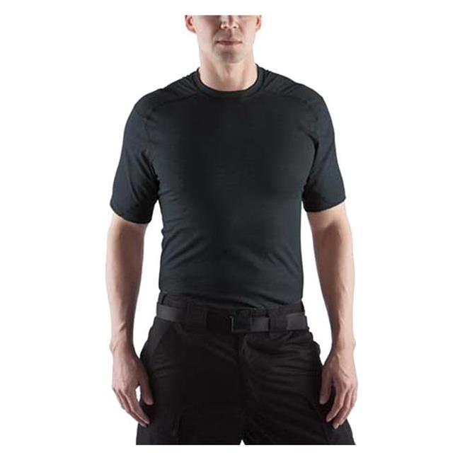 Massif Cool Knit SS T-Shirts Black