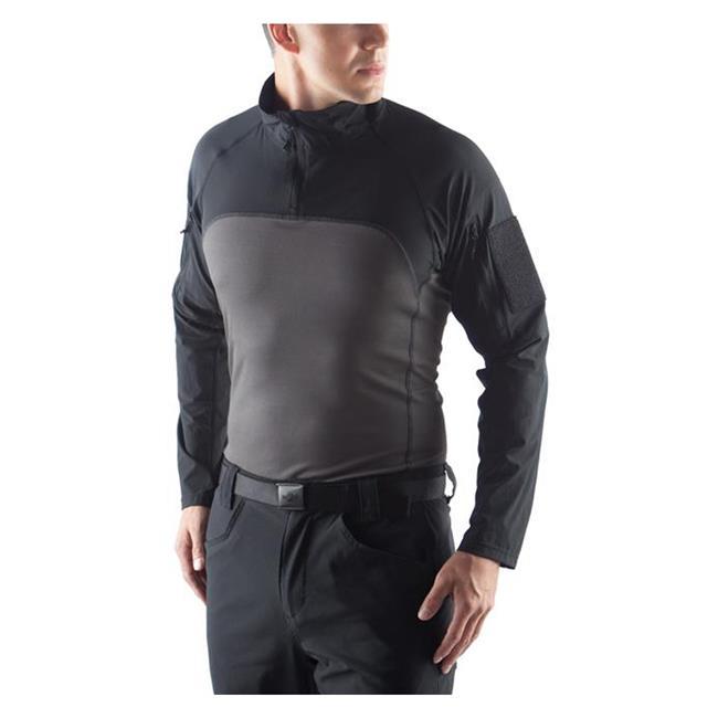 Massif Lightweight Tactical Shirts Black