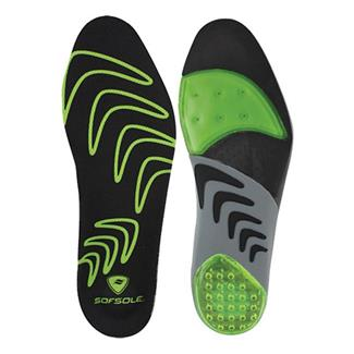 Sof Sole Airr Orthotic Insoles Green / Black