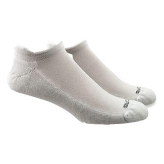 Brooks Essential Low Cut Tab Socks (2 pack) White