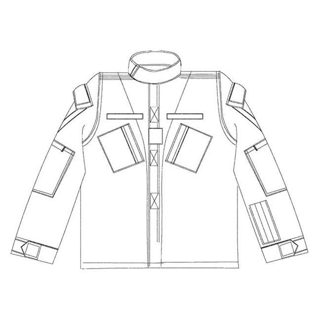 Propper Poly / Cotton Ripstop ACU Coats A-TACS AU