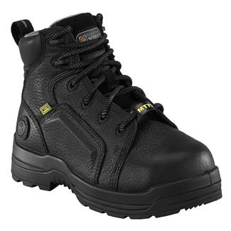 "Rockport Works 6"" More Energy Met Guard CT WP Black"