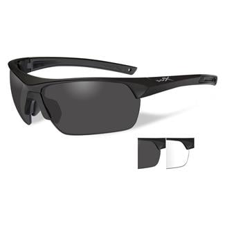 Wiley X Guard 2 Lenses Smoke Gray / Clear Matte Black