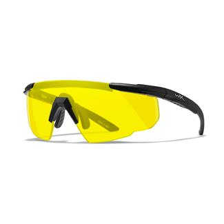 Wiley X Saber Advanced 1 Lens Pale Yellow Matte Black