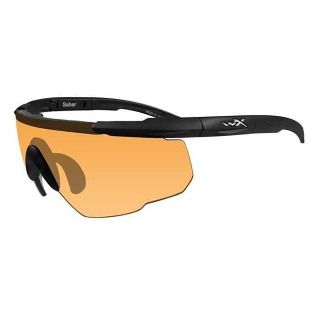 Wiley X Saber Advanced Light Rust 1 Lens Matte Black