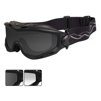 Wiley X Spear Matte Black (frame) - Smoke Gray / Clear (2 Lenses)