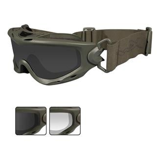 Wiley X Spear 2 Lenses Smoke Gray / Clear Foliage Green