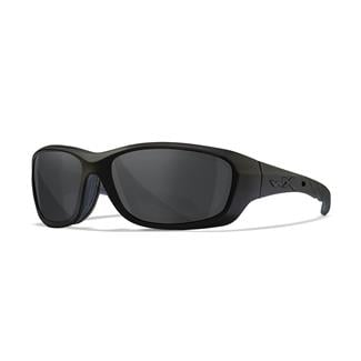 Wiley X Gravity Matte Black (frame) - Black Ops / Smoke Gray (lens)
