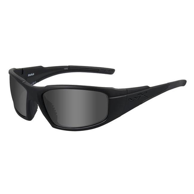 Wiley X Rush Matte Black Black Ops / Smoke Gray