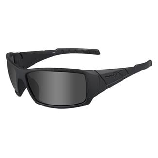 Wiley X Twisted Matte Black (frame) - Black Ops / Smoke Gray (lens)