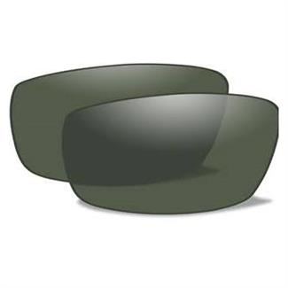 Wiley X Censor Replacement Lenses Polarized Smoke Green