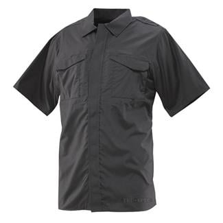24-7 Series Ultralight Short Sleeve Uniform Shirts Black