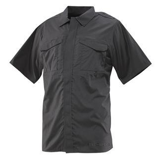 24-7 Series Ultralight Short Sleeve Uniform Shirts Black