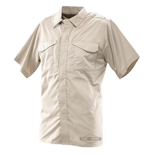 24-7 Series Ultralight Short Sleeve Uniform Shirts Khaki