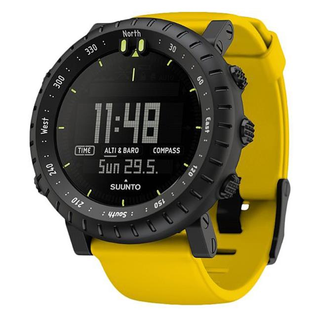 Suunto Core Watch Yellow Crush