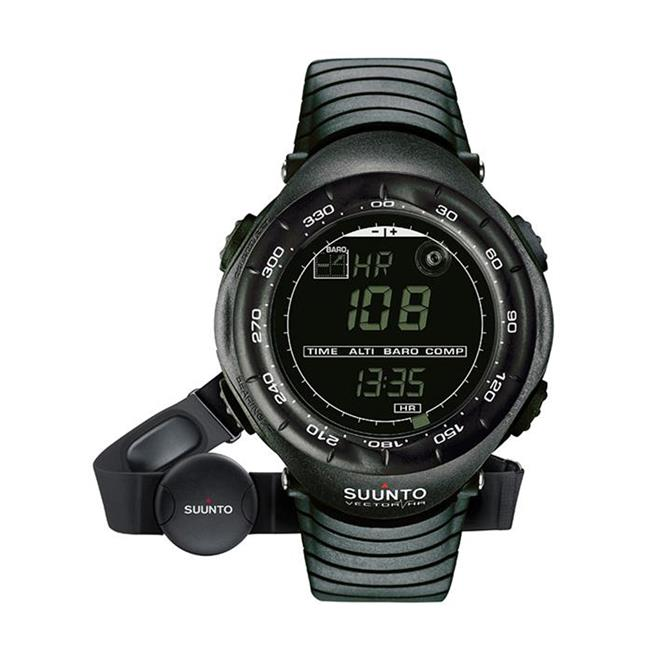 Suunto Vector Heart Rate Watch Black