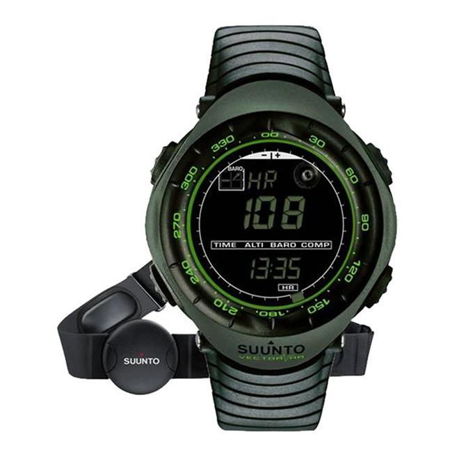 Suunto Vector Heart Rate Watch Dark Green