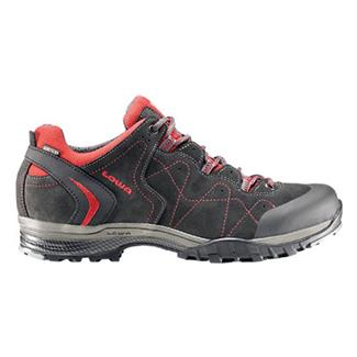 Lowa Focus GTX LO Anthracite / Red