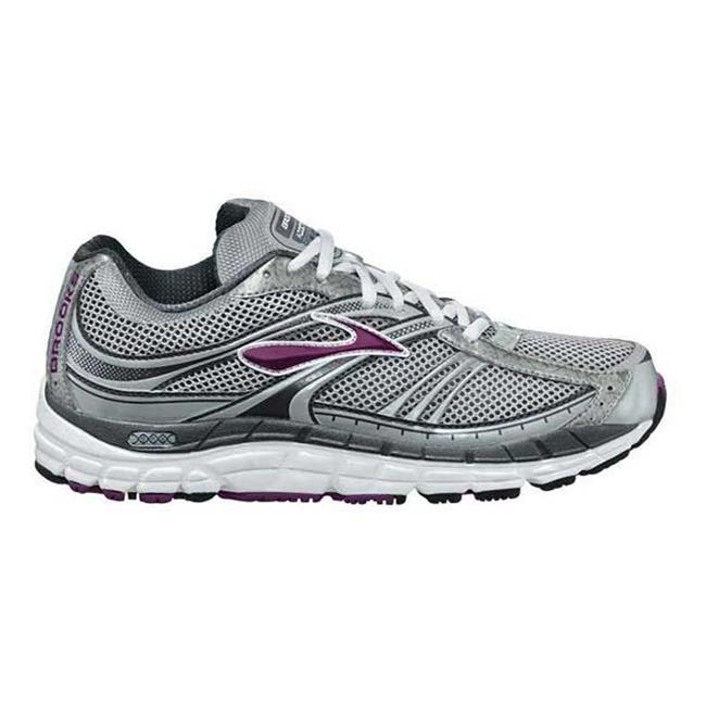 Brooks Addiction 10 Silver / Anthracite / Plum