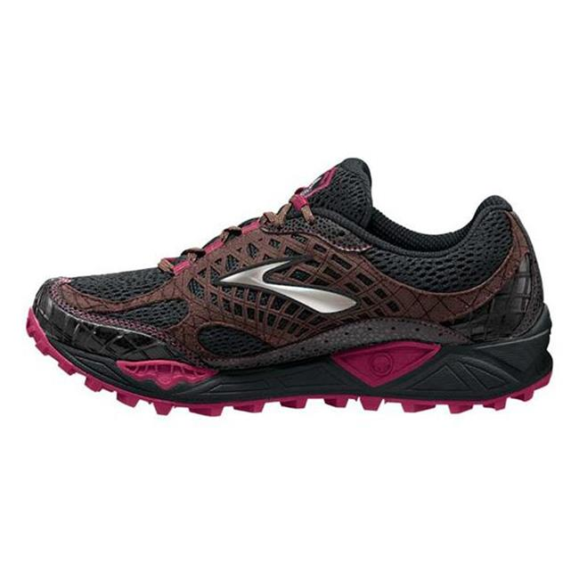 Brooks Cascadia 7 Black / Shopping Bag / Cerise