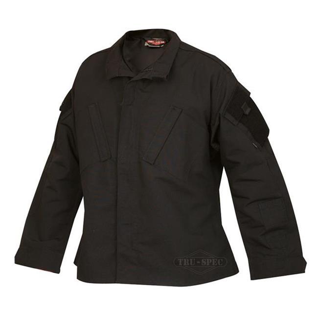 Tru-Spec Poly / Cotton Ripstop TRU Coats Black