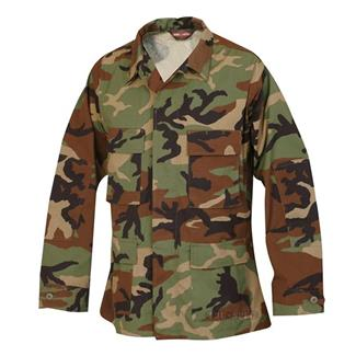 Tru-Spec Nylon / Cotton Ripstop BDU Coats Woodland