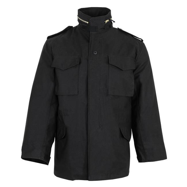 Tru-Spec M-65 Field Jacket with Liner Black
